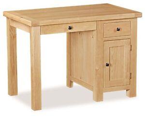 Image Is Loading Helford Oak Small Home Office Desk Light Oak