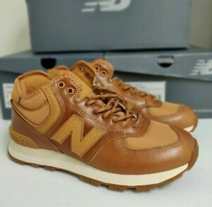 New Balance 574 Brown Leather Women's
