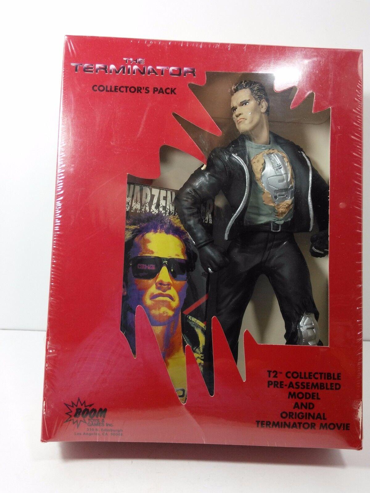 Terminator Collecteur'S Paquet T2 Figurine Articulée &  T1 Vidéo Boom Toys Neuf  exclusif