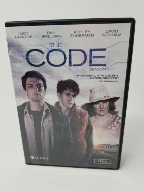 The Code: Series 1 (DVD, 2015, 2-Disc Set) FREE SHIPPING!!
