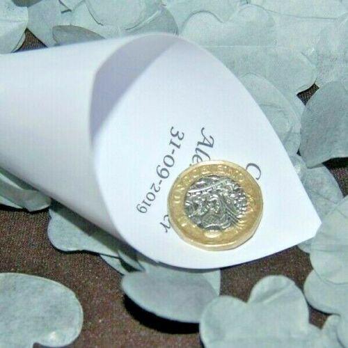 Argent Mariage Confettis-Amour Coeurs Biodégradable-Choisir un montant-Cônes?