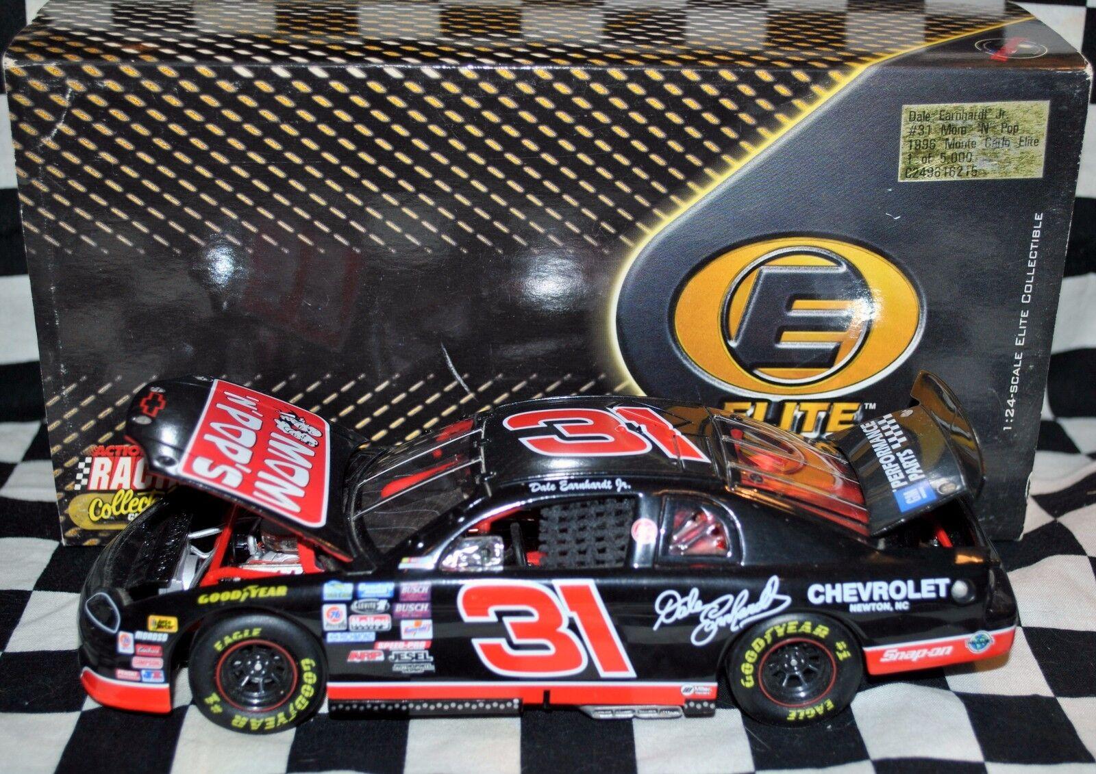 DALE EARNHARDT Jr. 1996 MOM & POP  ELITE 1 24 DIE CAST Monte Carlo NASCAR