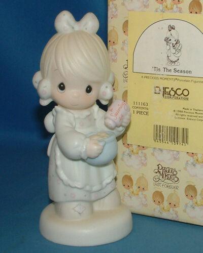 Precious Moments Figurine 111163 ln box Tis the Season