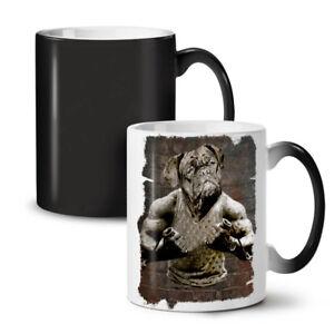Bulldog Gym Workout NEW Colour Changing Tea Coffee Mug 11 oz | Wellcoda
