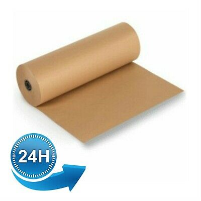 STRONG BROWN KRAFT WRAPPING PARCEL PAPER 90GSM FREE P/&P