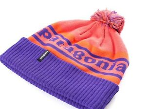 Image is loading Patagonia-Powder-Town-Beanie-Hat-CLEMSON-TIGERS-Winter- 74ae32c49153