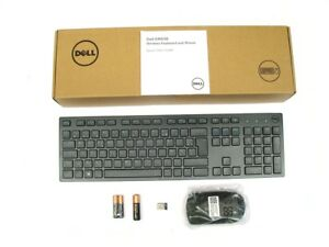 DELL-KM636-Wireless-Cordless-Keyboard-Mouse-Set-AZERTY-FRENCH-FRANCAIS-Layout