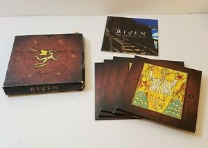 Riven: The Sequel to Myst PC CD-Rom 1997 5 disc set adventure game