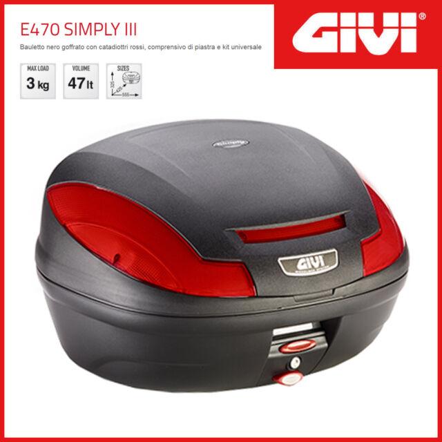 GIVI Topcase E470 N Roller Koffer Neu