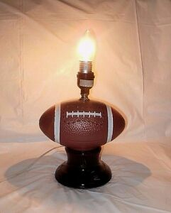 Football table lamp wiihout the lamp shade pre owned works vgc free image is loading football table lamp wiihout the lamp shade pre aloadofball Choice Image