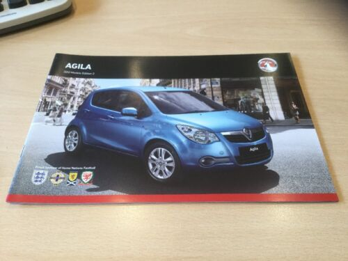 22 Pages Sales Brochure VM1109931 VAUXHALL  AGILA 2012 MODELS