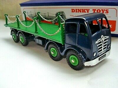 Atlas Dinky Supertoys No.905 Foden FLAT TRUCK with Chains Mint//boxed Car Models
