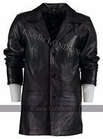 Men's Max Payne Leather Jacket Coat - Leather Jackets Mens - Charlie London