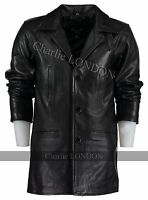 Men's Max Payne Leather Jacket Coat - Leather Jackets Mens - Charlie London
