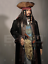 thumbnail 1 - Life Size Jack Sparrow BUST Statue Johnny Depp Prop Pirates Movie Style 1:1