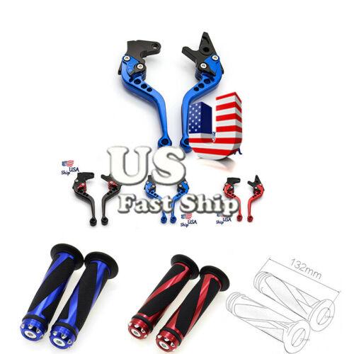 USA Stock For Honda CBR900RR 93-99 Brake Clutch Levers Grips CB600 HORNET 09-06