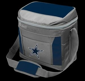 Details About Dallas Cowboys 1 Coleman 16 Can Soft Sided Insulated Cooler Bag New