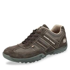 Details zu Dockers Herren Sneaker low Schnürschuhe Halbschuhe Freizeitschuhe Schuhe braun