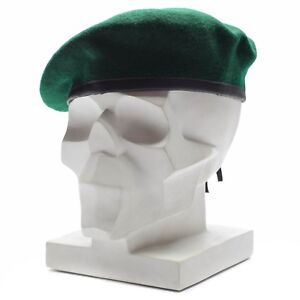 577688bfaa6 Image is loading Genuine-German-army-Green-beret-hat-Military-command-