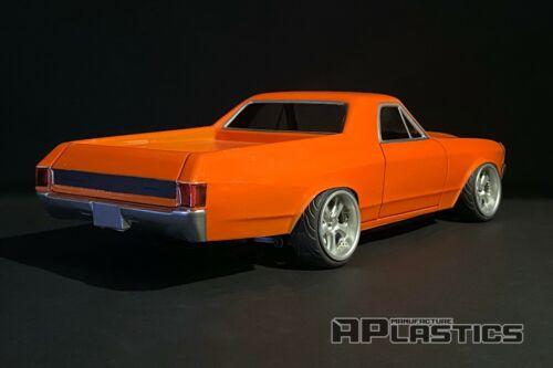 RC Body Car Drift 1:10 Chevrolet El Camino 70 ElCamino style APlastics New Shell