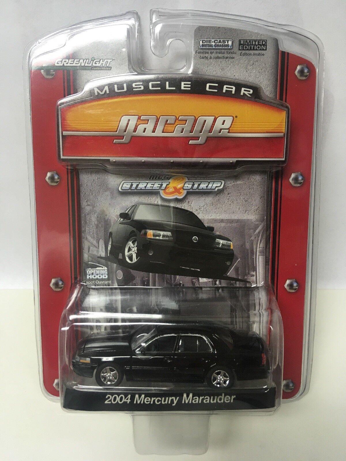verdelight mcg Muscle Car Garage nero 2004 Mercury Marauder 1 64 escala Diecast