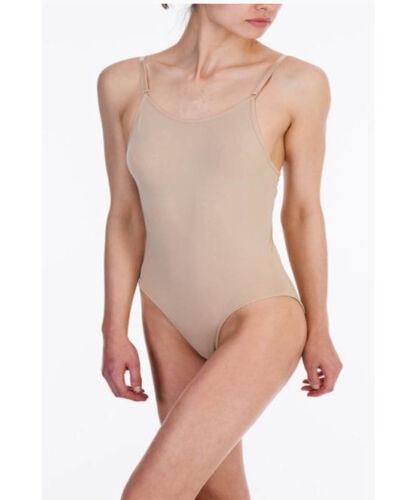 Silky Girls Dance Ballet Seamless Low Back Camisole Underwear