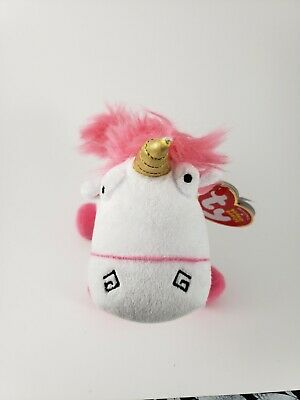 - MWMTs Stuffed Animal Toy TY Beanie Baby Unicorn FLUFFY Despicable Me 3