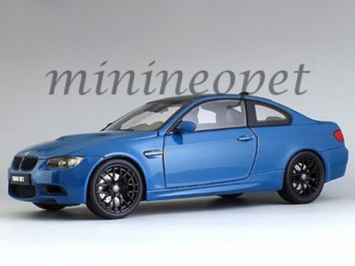 KYOSHO 08734 LBL BMW M3 E92 COUPE 1 18 DIECAST MODEL CAR LAGUNA SECA BLUE