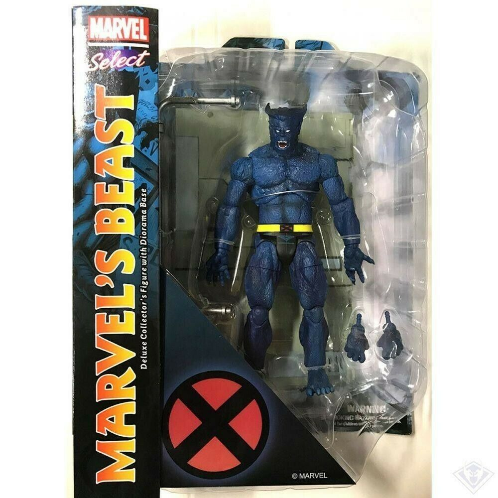Beast X-men Marvel Select Action Figure - UK Seller