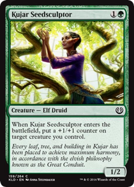 MTG Magic - (C) Kaladesh - 4x Kujar Seedsculptor x4 - NM/M