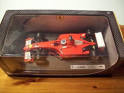 Iniziativa 1/18 Rubens Barrichello Ferrari F2002 2002-mostra Il Titolo Originale