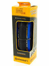 Continental Ultra Sport 2 Road Bike Tire, Blue/Black, 700x25, Folding
