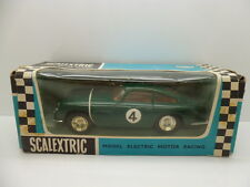 Scalextric C68 Aston Martin in Green, comes in rare Export box.