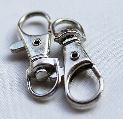 4 PC Bag Clasps Snap Hook Swivel Trigger Clips Silver Bronze Golden Light Golden