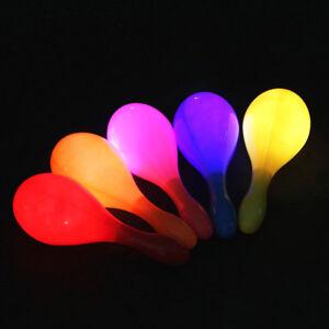 multi color maracas flashing maracas creative abs colorful flashing