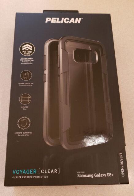 buy popular a07cf ec730 Buy Pelican Voyager Samsung Galaxy S8 Plus Case - Clear/grey online ...