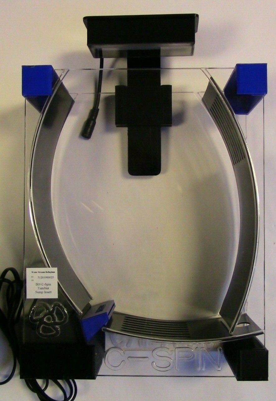 Refugium Chaeto Tumbler WSRI9G4LED in sump C-Spin W LED C4s Light