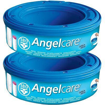 Ehrlich 2 X Angelcare Windel Entsorgung System Nachfüllung Kassetten Wrapper Schlafsäcke Diversifiziert In Der Verpackung