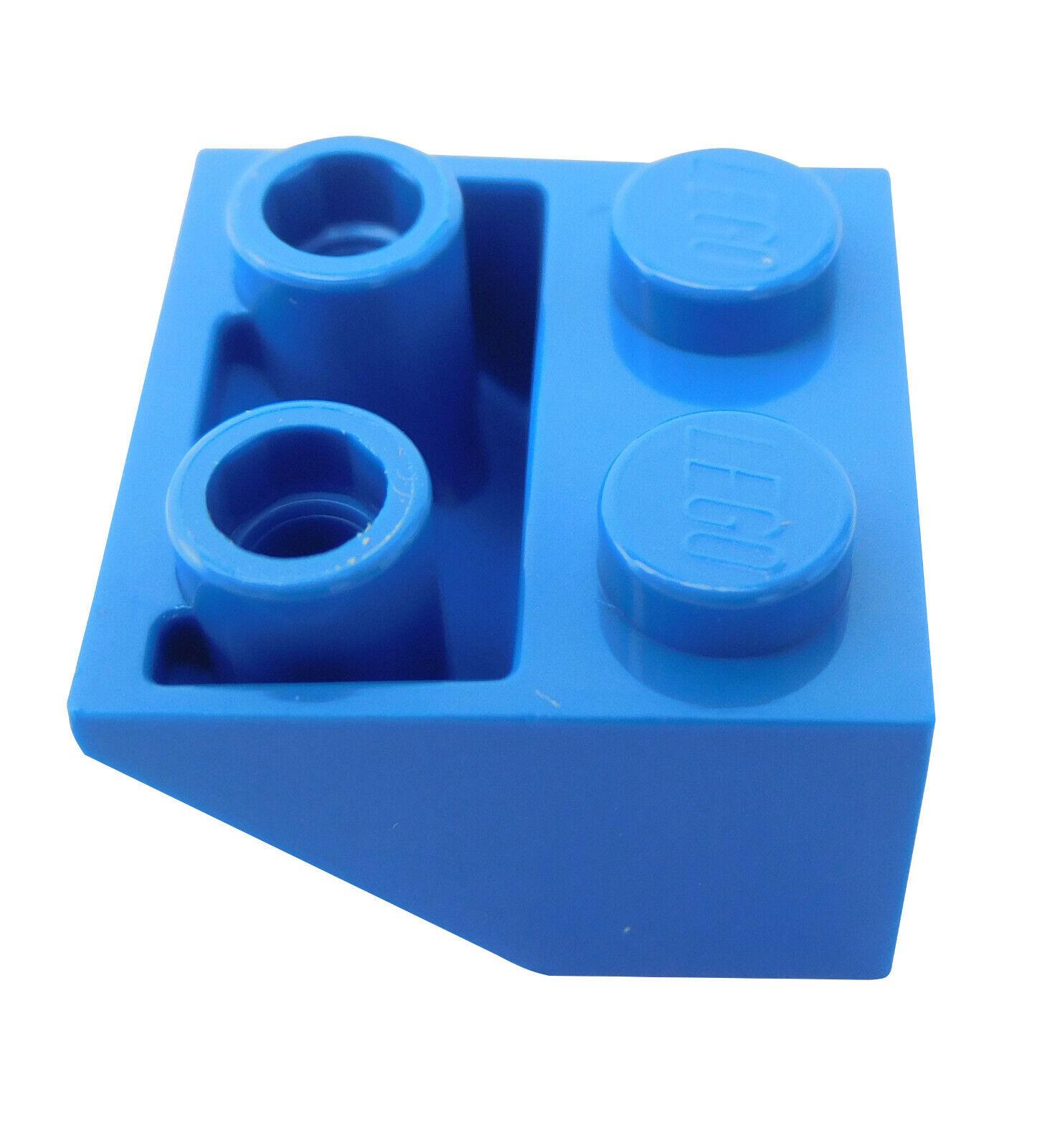 Lego 10 x Dachstein 3660 Schrägstein 2x2 alt dunkelgrau invers 45°