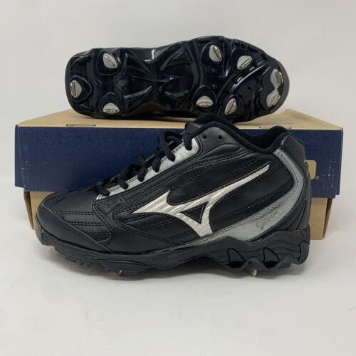 Mizuno 9 Spike Vintage G4 Mid Mens Baseball Softball Metal Cleats 6.5