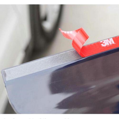 2Pcs Rear View Black Side Mirror Rain Snow Shield Protector For Car Auto