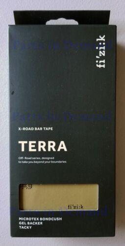 Fizik Terra Microtex Bondcush Tacky 3mm Handlebar Bar Tape Black Red White Blue