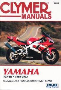 1998 1999 2000 2001 2002 2003 yamaha yzf r1 repair service workshop rh ebay com 2001 yamaha yzf r1 service manual 2001 r1 service manual pdf