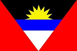 Image Is Loading ANTIGUA BARBUDA NATIONAL FLAG 5x3 Caribbean West Indies