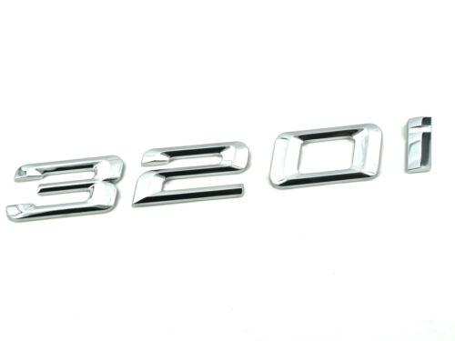 Genuine New BMW 320i BOOT BADGE For 3 Series E46 E90 E91 E92 E93 F30 F31 320 i