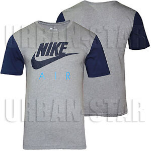 New-Mens-Nike-Gym-Sports-T-Shirt-Retro-Nike-Logo-Top-Crew-Neck-Tee-S-M-L-XL