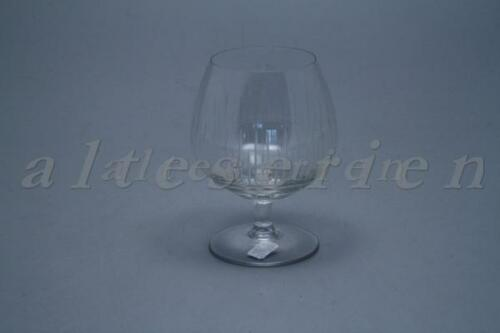 Cognacschwenker D 5,3 cm H 10,5 cm Rosenthal Form 2000 Strahlenschliff