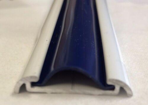"""1/"""" x 50 Ft COOL NAVY BLUE Vinyl Insert Molding Trim Screw Cover RV Boat Trailer"""