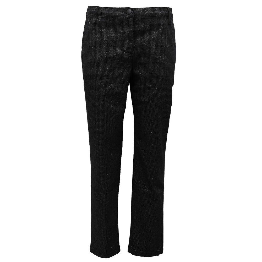 6426b (no Foulard) Jeans Pantalone Donna Jacob Cohen Black/silver Trouser Woman