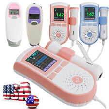 Fetal Doppler PR Heart beat LCD Pocket Prenatal Baby Health Monitor 2.5MHz/3MHz
